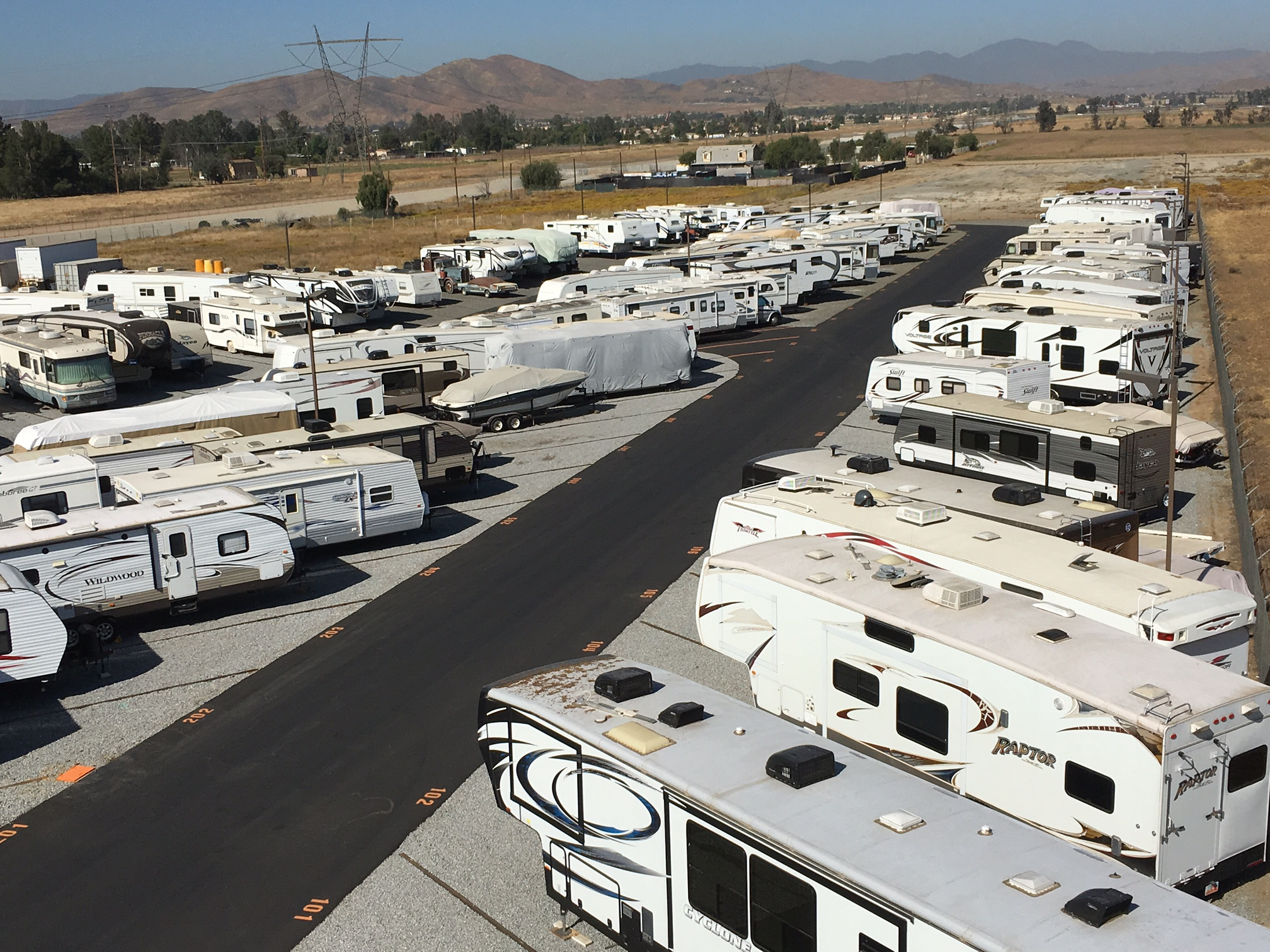 RV Storage Of Murrieta Valley Provides Secured Storage Services.